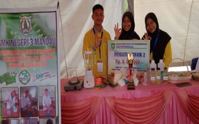 SMKN 3 Mandau Juara 2 Karya Ilmiah