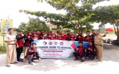 Kunjungan Mahasiswa Politeknik Negeri Bengkalis Sosialisasi Beasiswa Bidik Misi