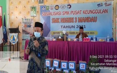 Sosialisasi SMK Pusat Keunggulan - SMK Negeri 3 Mandau